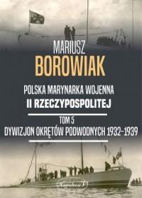 Polska marynarka wojenna II Rzeczypospolitej. - okładka książki