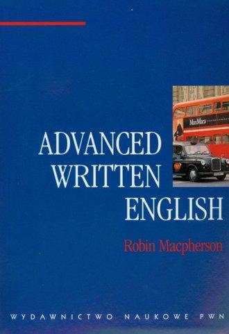 Advanced Written English - okładka książki