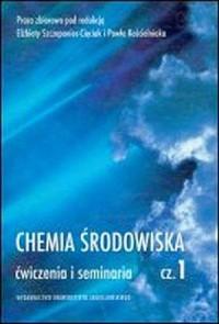 Chemia środowiska cz. 1 - okładka książki