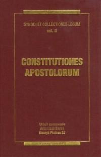 Constitutiones apostolorum. Synody i kolekcje praw. Tom 2. Źródła Myśli Teologicznej - okładka książki