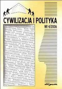 Cywilizacja i polityka nr 42006 - okładka książki