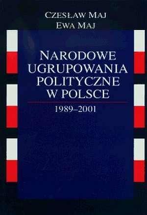 Narodowe ugrupowania polityczne - okładka książki