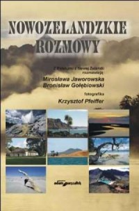 Nowozelandzkie rozmowy - Mirosława Jaworowska - okładka książki