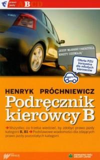 Podręcznik kierowcy kat. B - okładka książki
