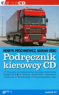 Podręcznik kierowcy kat. C, D - okładka książki