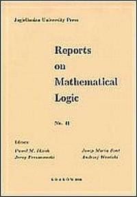 Reports on Mathematical Logic No. 41 - okładka książki