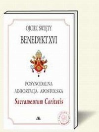 Sacramentum Caritatis (adhortacja) - okładka książki