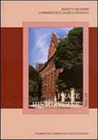 Zeszyty Naukowe Uniwersytetu Jagiellońskiego. Prace Historyczne. Zeszyt 129 - okładka książki