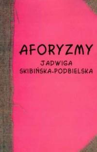 Aforyzmy - okładka książki