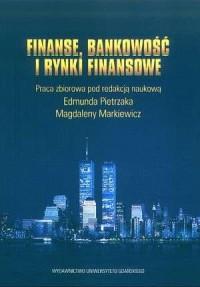 Finanse, bankowość i rynki finansowe - okładka książki