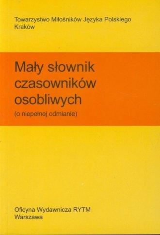 Mały słownik czasowników osobliwych - okładka książki