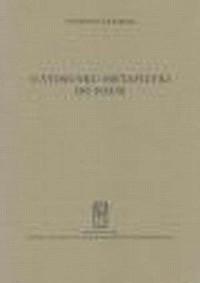 O stosunku metafizyki do nauk - okładka książki