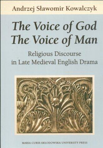 The Voice of God. The Voice of - okładka książki