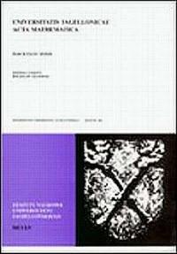 Universitatis Jagiellonicae Acta Mathematica. Zeszyt 39 - okładka książki