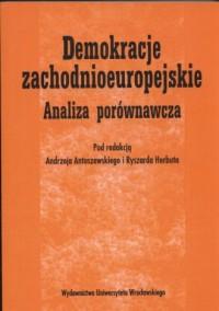 Demokracje zachodnioeuropejskie. - okładka książki