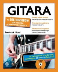Gitara dla żółtodziobów - Frederick Noad - okładka książki