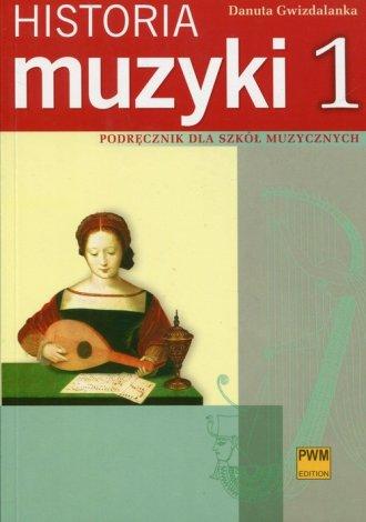 Historia muzyki Podręcznik dla - okładka podręcznika