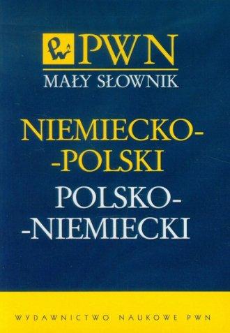 Mały słownik niemiecko-polski, - okładka książki
