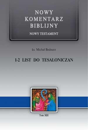 1-2 List do Tesaloniczan. Seria: - okładka książki