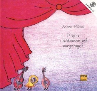 Bajka o instrumentach muzycznych - okładka podręcznika