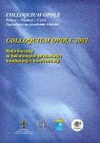 Colloquium Opole 2002. Rola Europy w światowych procesach kooperacji i konfrontacji - okładka książki