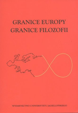 Granice Europy. Granice filozofii. - okładka książki