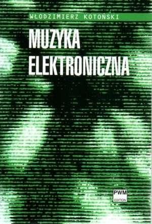 Muzyka elektroniczna - okładka podręcznika