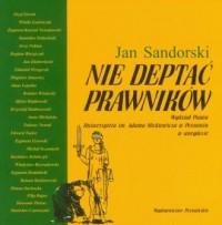 Nie deptać prawników. Wydział Prawa Uniwersytetu im. Adama Mickiewicza w anegdocie - okładka książki