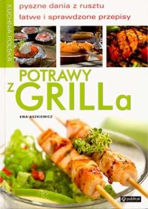 Potrawy z grilla. Kuchnia polska - okładka książki
