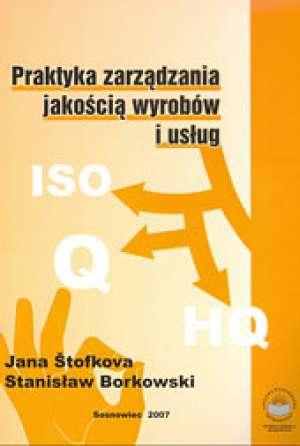 Praktyka zarządzania jakością wyrobów - okładka książki
