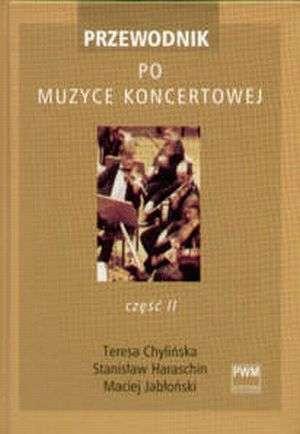 Przewodnik po muzyce koncertowej. - okładka książki