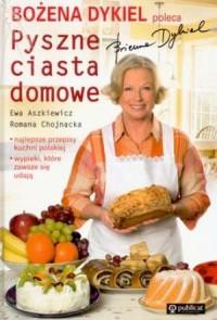 Pyszne ciasta domowe - okładka książki