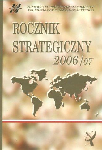 Rocznik strategiczny (2006/07) - okładka książki