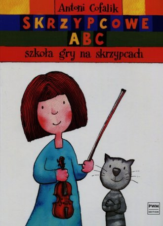 Skrzypcowe ABC. Szkoła gry na skrzypcach - okładka podręcznika