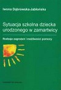 okładka książki - Sytuacja szkolna dziecka urodzonego
