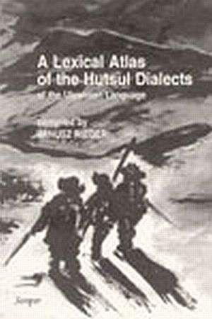 A Lexical Atlas of the Hutsul Dialects - okładka książki