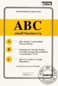 ABC small businessu 2006 - okładka książki