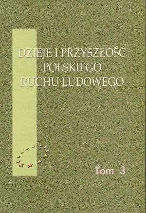 Dzieje i przyszłość polskiego ruchu - okładka książki