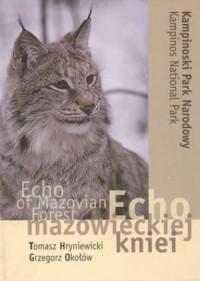 Echo mazowieckiej kniei (wersja pol./ang.) - okładka książki