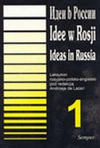 Idee w Rosji. Leksykon rosyjsko-polsko-angielski. - okładka książki