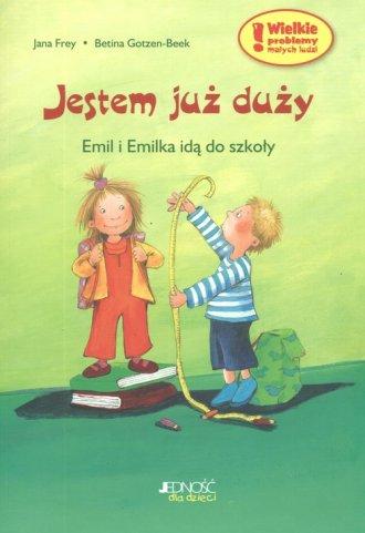 Jestem już duży. Emil i Emilka - okładka książki