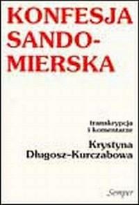 Konfesja Sandomierska - okładka książki
