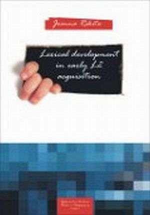 Lexical development in early L2 - okładka książki