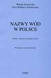 Nazwy wód w Polsce cz. 1 - okładka książki