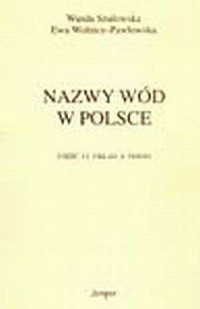 Nazwy wód w Polsce cz. 2 - okładka książki