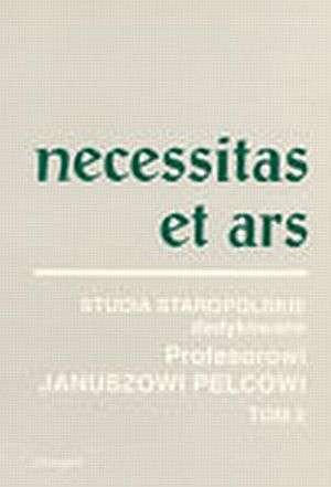 Necessitas et Ars. Tom 2 - okładka książki