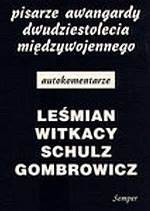 Pisarze awangardy dwudziestolecia - okładka książki