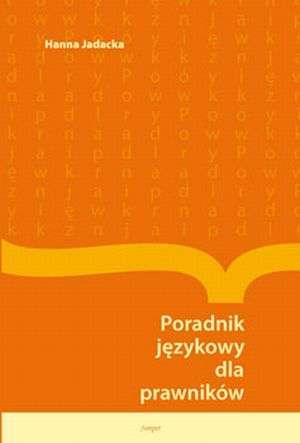 Poradnik językowy dla prawników - okładka książki