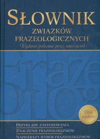 Słownik związków frazeologicznych. - okładka książki