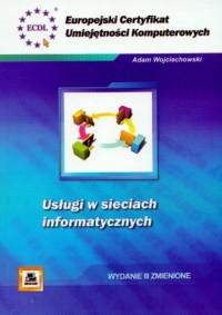 ECUK. Usługi w sieciach informatycznych - okładka książki